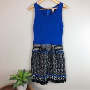 [Anthropologie] Girls from Savoy Arden Blue Dress